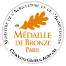 La Belle Cabresse 1L Medal bronze at agricultural competition at paris in 2009