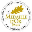 Rivière du mat - Grande Réserve Medal Or at agricultural competition at paris in 2012